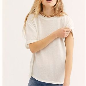 Free People we the free oversized tee